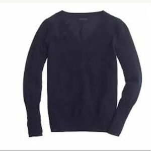 J CREW COLLECTION Cashmere V Neck Sweater XS